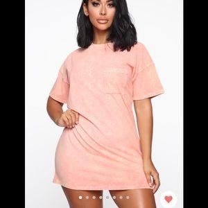 Fashion nova tee shirt dress